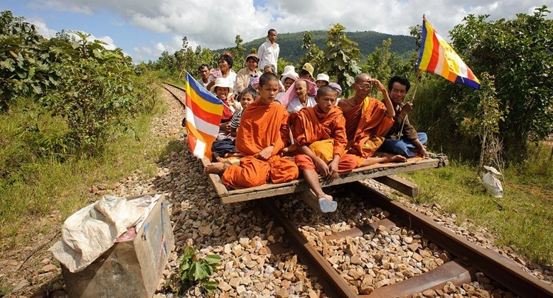 Bamboo Trains of Cambodia 1