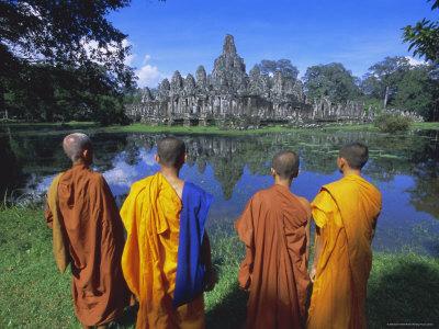 Bayon-Monk